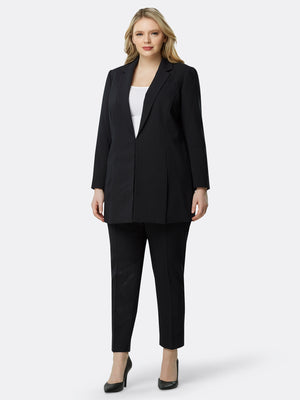 Pinstriped Topper Pantsuit