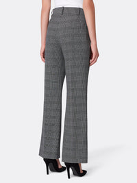 Plaid Bi-Stretch Pant Suit