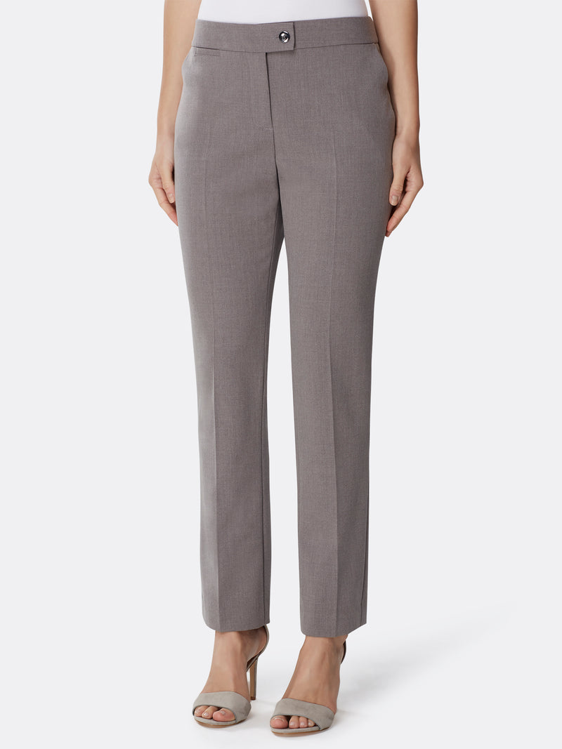 Bi-Stretch Three-Button Pantsuit