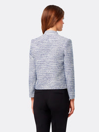 Bouclé Stand-Collar Jacket