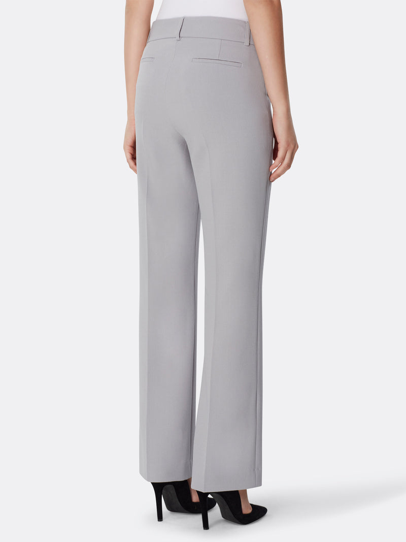 Extend-Tab Pebble Crepe Pants
