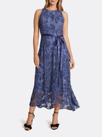 Lace High-Low Dress