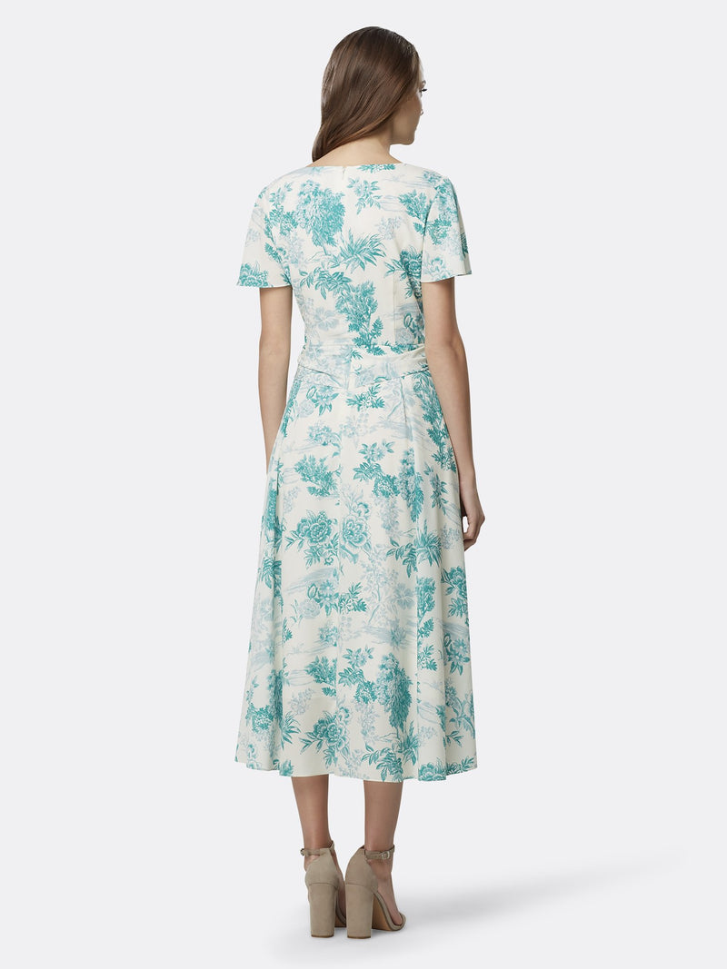 Country Toile Teal
