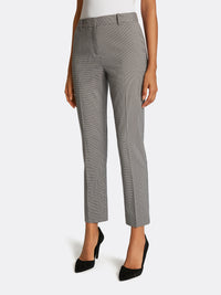 Houndstooth Star-Neck Pantsuit
