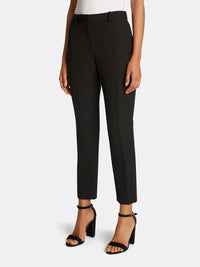 Crepe Faux Double-Breasted Pantsuit
