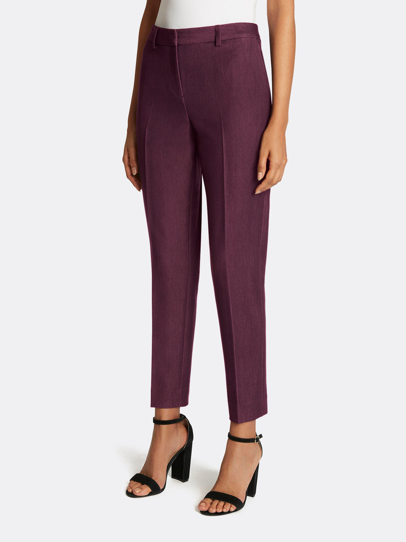 Twill Ankle-Length Pants