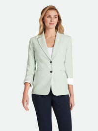 Bi-Stretch Roll-Cuffed Jacket