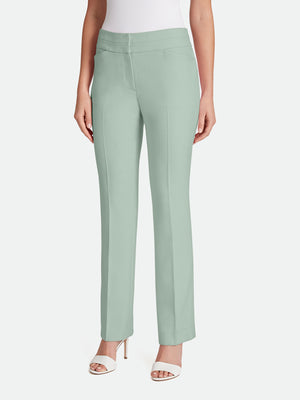 Twill Straight-Leg Pants