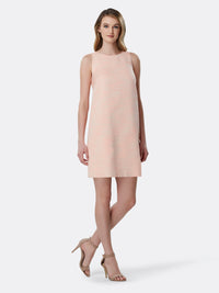 Sleeveless Bouclé Sheath Dress