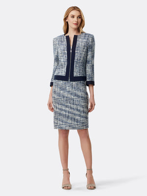 Bouclé Tweed Skirt Suit