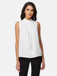 Pearl Trimmed Georgette Blouse