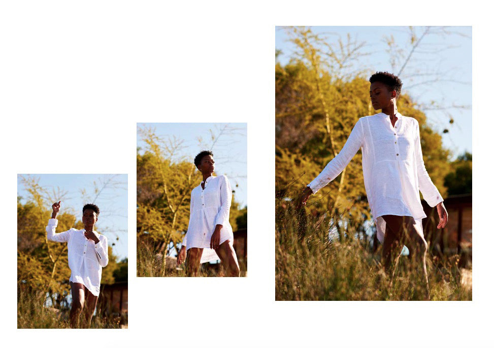 Siesta Shirt in white