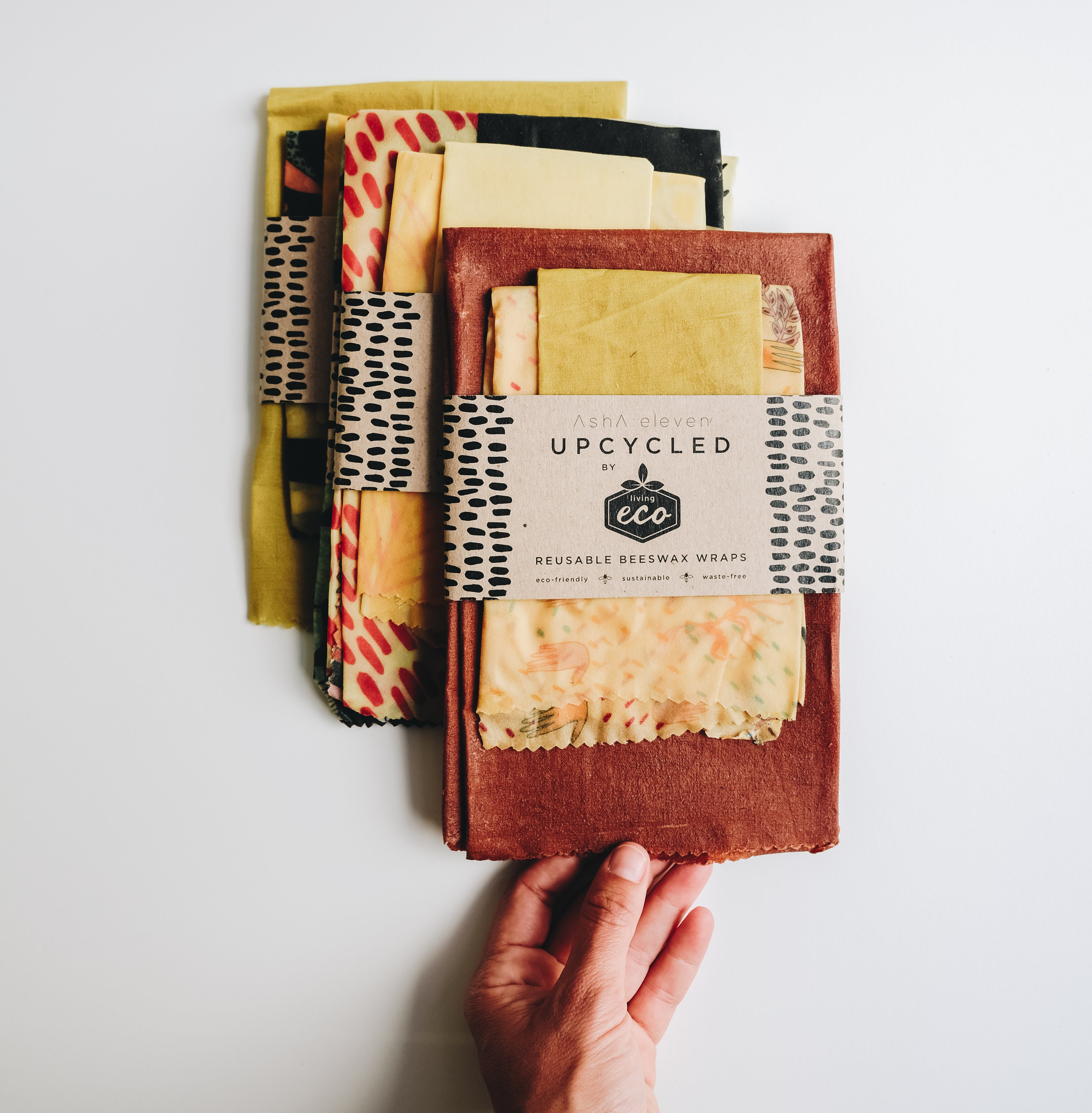 Up-cycled | Reusable Beeswax Wraps