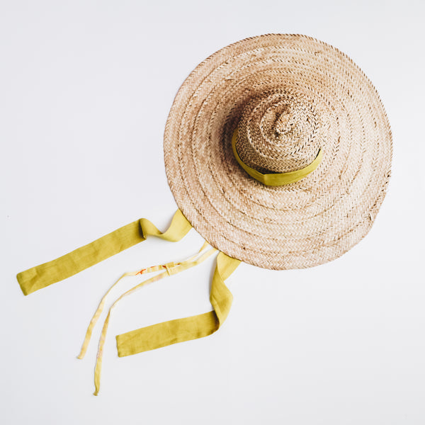 Straw Hat | Unisex Adults