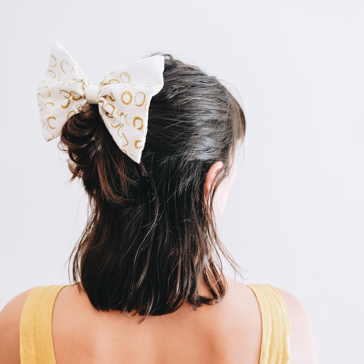 Up-cycled | Hair Bow Slide