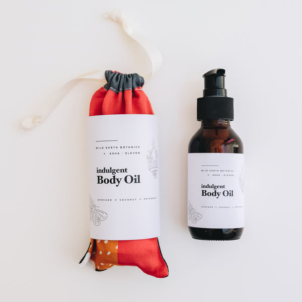 X Wild Earth Botanics | Indulgent Body Oil
