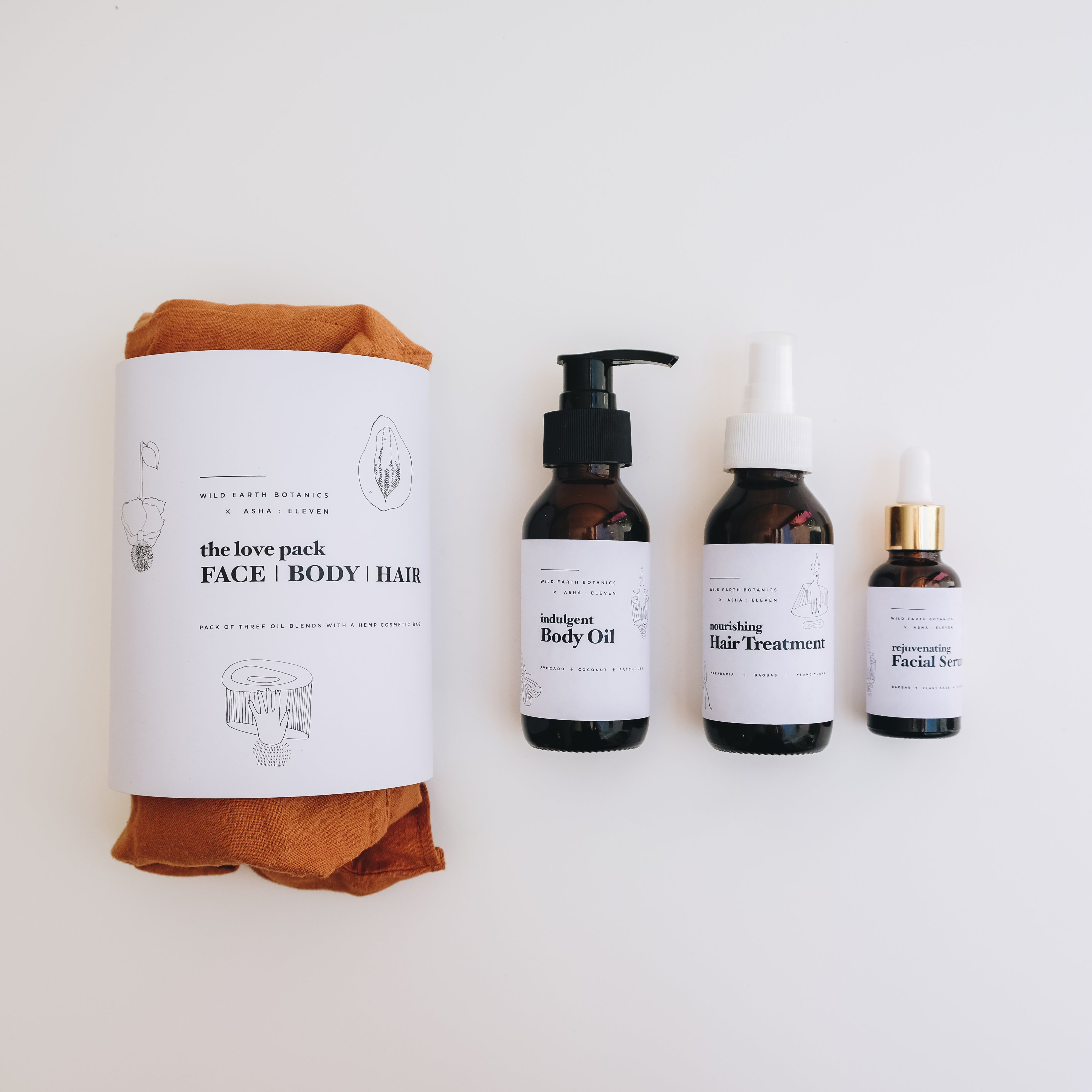 X Wild Earth Botanics | The Love Pack