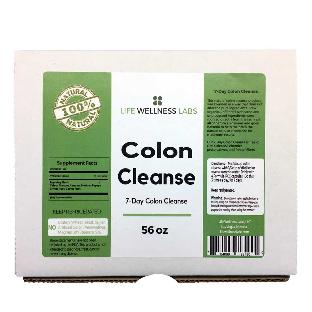 COLON CLEANSE | 7-Day Colon Detox