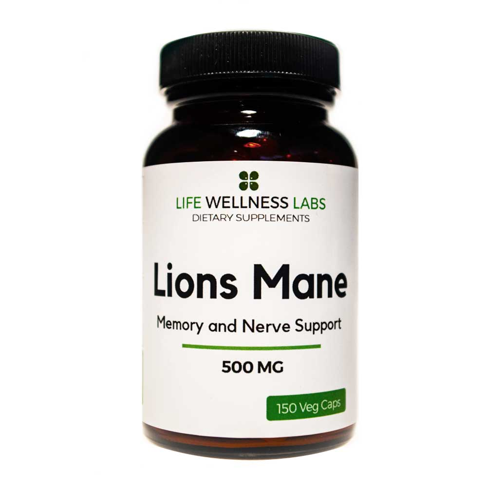 Lions Mane | Memory and Nerve Support