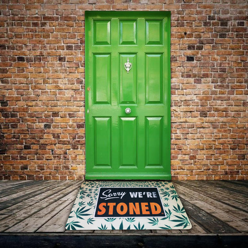 High Cotton Gifts - Sorry We're Stoned Floor Mat