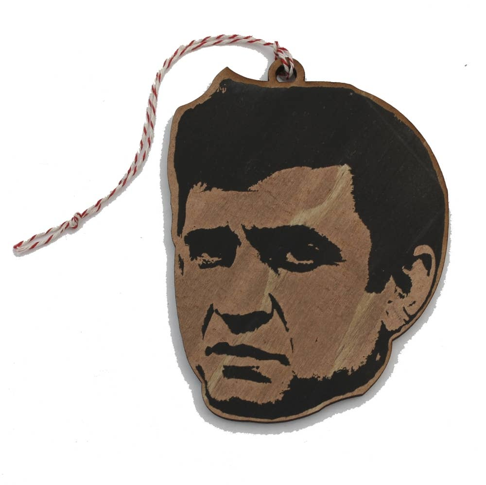 Johnny Cash Ornament