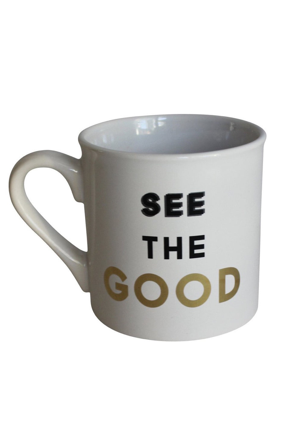 Your Joyologist - See The Good- Porcelain Mug