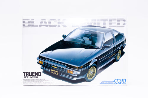 Toyota Trueno AE86 Black Limited