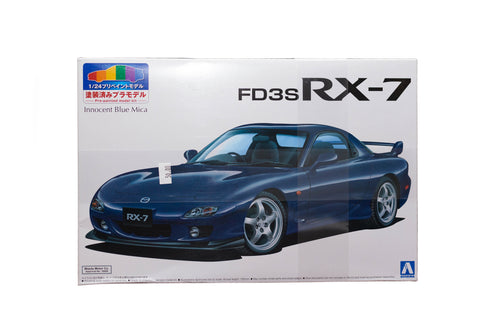 RX7 FD Painted Innocent Blue Mica model