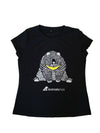 Han Lili women's fitted black T-shirt