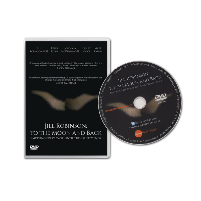 Jill Robinson: To the moon and back DVD
