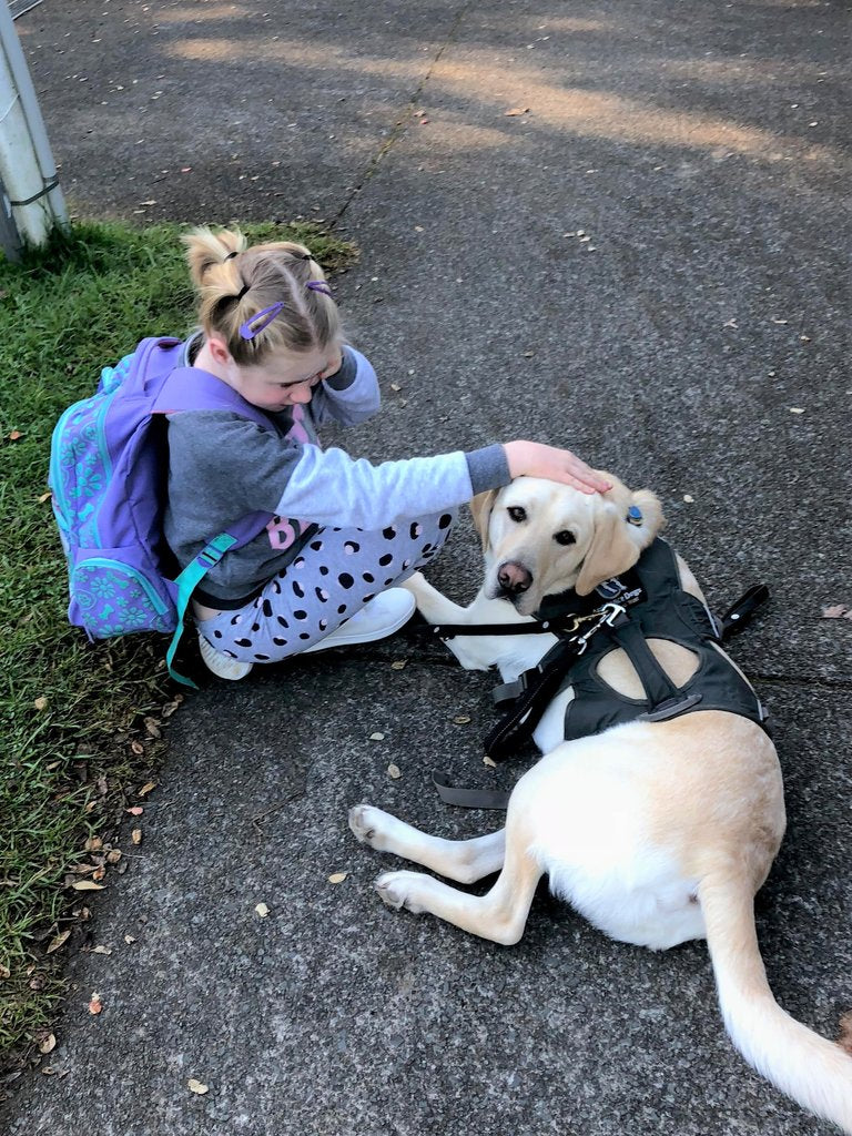 How an Autism Assistance Dog Helps Our Daughter
