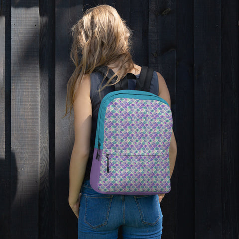 Mermaid Scales | Ready for School Backpack