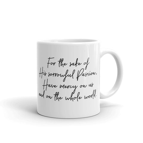 Divine Mercy w/ Prayer, Mug