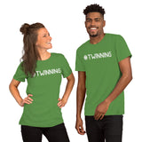 #TWINNING Trendy Hashtag for Twins, Comfort Tee