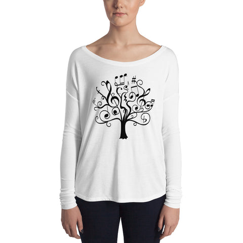 Music Tree | Ladies' Long Sleeve Tee