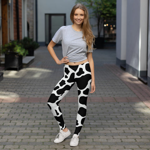 Cow Hide Print | Leggings