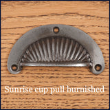 sunrise burnished cup pull