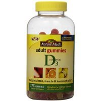 Nature Made Vitamin D3 Adult Gummies - Strawberry, Orange, And Lemon 275 Gummies Carrier To Shipping International Usps, Ups, Fedex, Dhl, 14-28 Day By Dragon Shopping