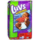 Luvs Ultra Leakguard Diapers Size 1, 8-14 Lb- 2 Packs Of 48