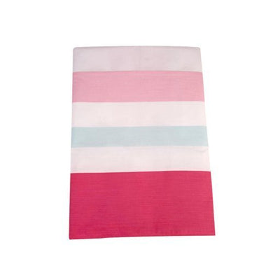 Happy Chic Baby By Jonathan Adler - Olivia Multi Stripe Pink Dust Ruffle By Crown Crafts