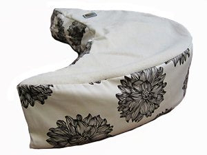 The Nesting Pillow- Organic Nursing Pillow With Washable Slipcover (Paloma)