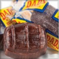 Washburn Dad'S Wrapped Root Beer Barrels ~ 2 Lbs ~ Old Fashioned Flavor