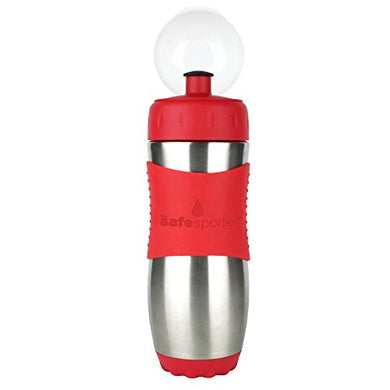 Kid Basix By New Wave Safe Sporter-Stainless Steel Lunch &Amp; Sport Water Bottle