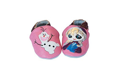 Infant/Toddler Frozen Soft Sole Leather Shoes