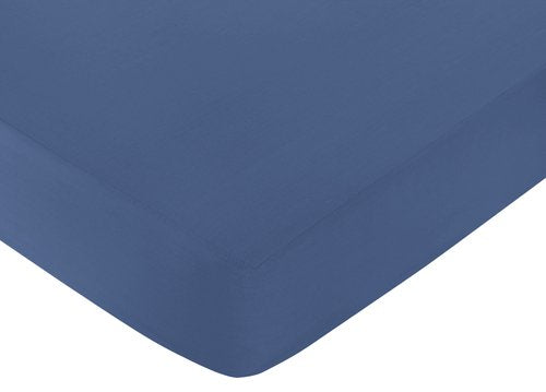 Fitted Crib Sheet For Space Galaxy Baby/Toddler Bedding Set Collection - Light Blue