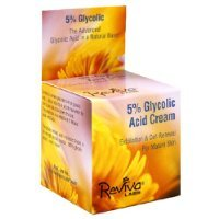 Reviva Labs 5% Glycolic Acid Cream, For Both Aging And Problem Skin, 1.5 Ounces (42 G)
