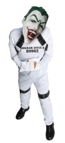 Dc Super Villain Collection Joker Straight Jacket Costume, Medium