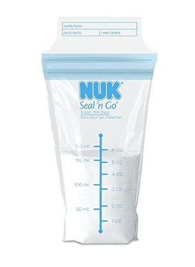 Nuk Seal 'N Go Milk Storage Bags, 150 Count