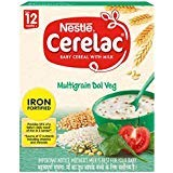 2 X Cerelac Multi Grain Dal Vegetable - 300G - Stage 4 - 12 Months +