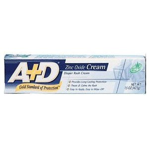 A+D Medicated Diaper Rash Cream With Aloe - 1.5 Oz